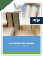 ISRO ME(2006-2018) Yearwise Solution]