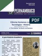 """A """"Pré-História"""" do Brasil e do Nordeste.ppt"""