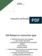Lecture_6 Instruction Set Architecture