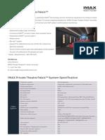 IPT Palais Tech Spec Datasheet