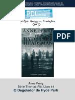 Anne Perry - Série Pitt 14 - O Degolador de Hyde Park.pdf