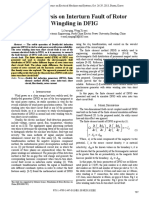 FEM Analysis on Interturn Fault of Rotor