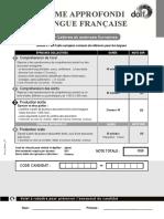 Production Ecrite Dalf c1 Lettre Science Humaine