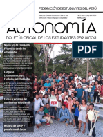 Boletín Autonomía de la FEP - Abril 2019