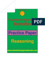 Practice Paper (Resoning)