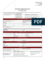 EEI Student Application Form International Updated
