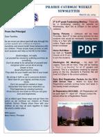 Newsletter 3 28 19