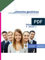 Guia de Orientacion Modulos de Competencias Genericas Saber Tyt 2019-1