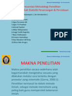 Presentasi Metodologi Penelitian ( teknik mesin Undip )