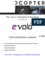 "Alexander zosel Evolo - The ""green"" helicopter of the future"
