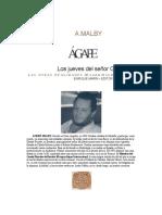 Agape, los Jueves del Señor G.- Andre Malby