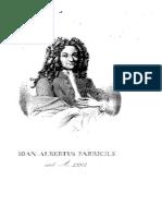 1668-1736, Fabricius JA, Bibliotheca Latina Mediae Et Infimae Aetatis. Vol 1, LT