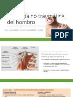Patología No Traumática Del Hombro