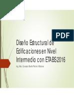 1. Diseño Estructural de Edificaciones con ETABS 2016_Inicial.pdf