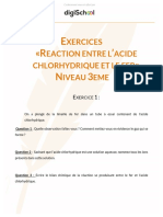 Ffcf3ef283f92a72df16ae40b13b6f76 Exercices Reaction Entre l Acide Chlorhydrique Et Le Fer Physique Chimie 3eme (1)