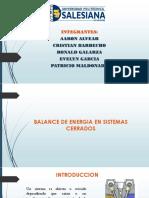 Balance de Energia en Sistemas Cerrados (1)