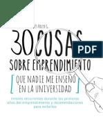 30 cosas sobre emprendimiento.pdf