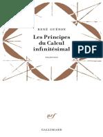 [Tradition] René Guénon - Les principes du calcul infinitésimal (1946, 2016, Gallimard).pdf