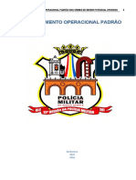 PMMG - Procedimento operacional padrão