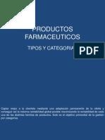 PRODUCTOS FARMACEUTICOS categorias y tipos.pptx