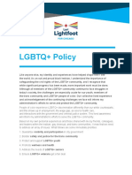 Lori Lightfoot's LGBTQ+ framework
