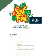 Media Kit Sol Fm