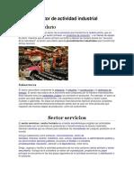 Sector de actividad industrial y de servicios.docx