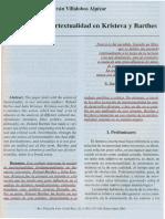 Lectura II. Intertextualidad