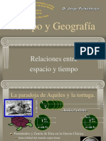 Tiempo y Geografía 1 Clase de Geografía y tiempo