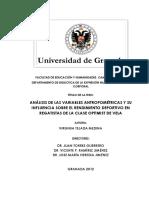 Análisis de Las Variables Antropométricas y Su Influencia Sobre El Rendimiento Deportivo en Regatistas de La Clase Optimist de Vela