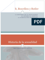 Foucault, Bourdieu y Butler