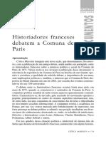 VVAA - Historiadores franceses debatem a comuna de Paris.pdf