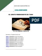 Comentario sobre la epístola de Pablo a los colosenses.docx