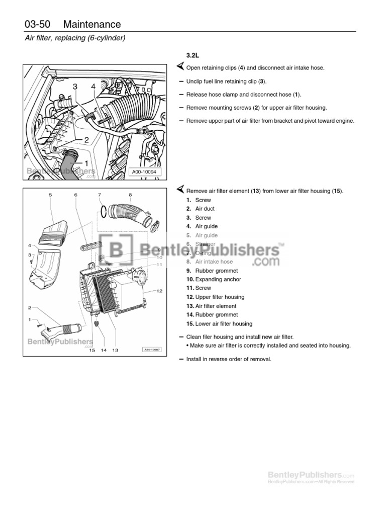 Parts & Accessories For 2002-2008 Audi A4 A4 Quattro 3.0L 3.2L ...