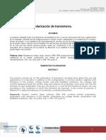 Informe Practica Polarizacion de Transistores