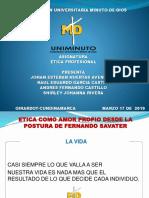 Presentacion Etica Profesional 9 Semestre
