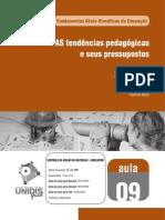 As Tendências pedagógicas e seus pressupostos Fasciculo_09.pdf
