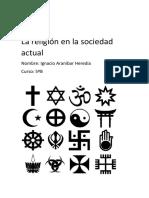 La religión en la sociedad actual.docx