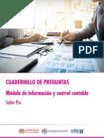Cuadernillo de preguntas informacion y control contable Saber Pro.pdf