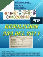 Normatividad Legal Vigente en Colombia