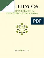 Metrica y Edicion Del Verso
