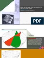 stereonet geologi struktur.pptx