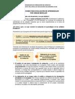 Orientaciones Para Evaluación de Aprendizajes Prog.form.Serv.2018