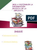 Ppt de Implicita y Explicita