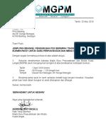Surat Jemputan Ketua PKG Banting MGPM