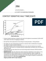 Context Sensitive Half Time [Csht] – the Lay Medical Man