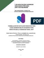 PLAN DE NEGOCIOS 2018 - CASAS DESMONTABLES PARA MASCOTAS FINAL.docx