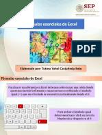 Fórmulas Esenciales de Excel