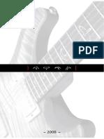 2008 PRS Catalog