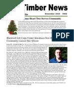The Timber News! -- November 2010